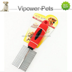 Dog Grooming Comb Pet Hair Comb Stainless Steel Massage Combs Free Shipping