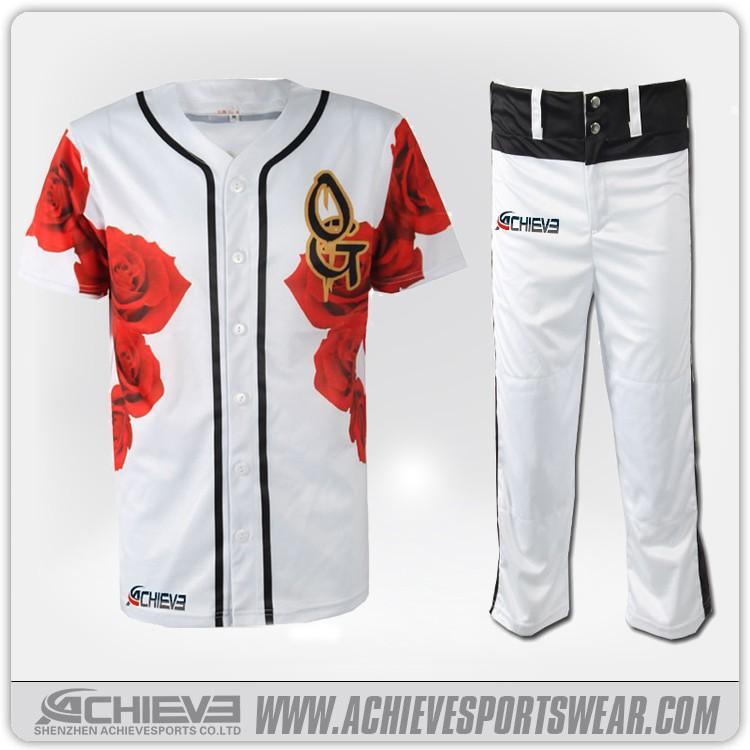 2016 custom baseball tee shirts blank baseball jersey Designer baseball shirts