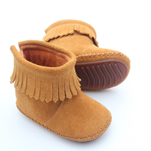 Lovely Popular Shoes Cheap Moccasins Soft Rubber Baby Boots