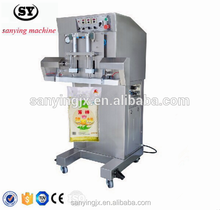 Multi-functional vacuum gas flushing packaging machine for pouch sealer