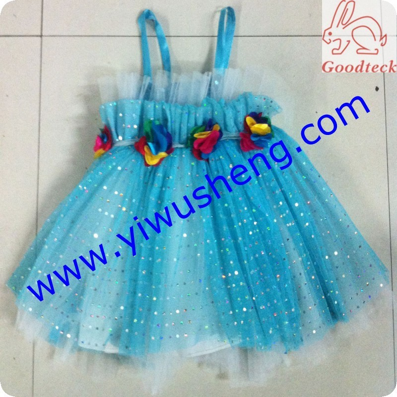 kids frocks wear new style polyester tutu princess children dresses,cute baby dress