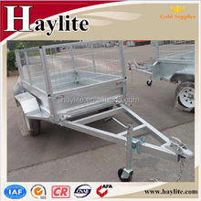 galvanized metal cage used box trailer