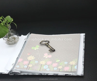 H2016 fashion christmas alibaba china supplier PU western leather family photo albums manufacture