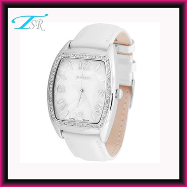 hot sell women watches, PU leather band hot sell women watches stainless steel case back