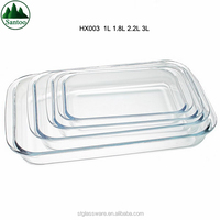 Daily Microwavable Pyrex Rectangular Glass Baking Dish