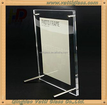Supply best quality double sided glass picture frame glass wholesale