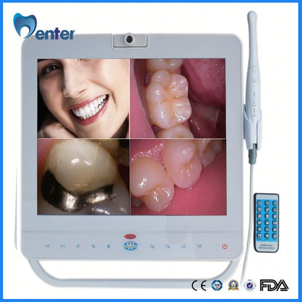 MD1500 with lcd holder 15 Inch Monitor hot sale dental intraoral camera