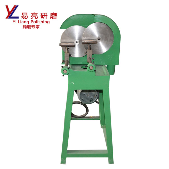 metal angle automatic double sand disc side grindig machine