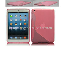 Soft transparent rain dot tpu jelly cover case for ipad 2/3/4,skidproof waterproof shockproof skin cover for ipad 2/3/4 tablet