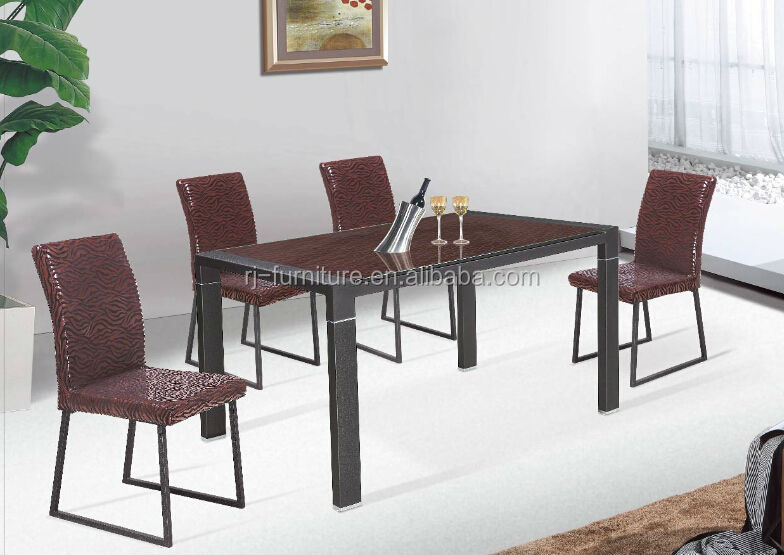 Zebra stripe dining table/chair set/restaurant/home/indoor furniture