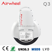 Airwheel Q3 high quality 2 wheel self balancing electrical monocycle