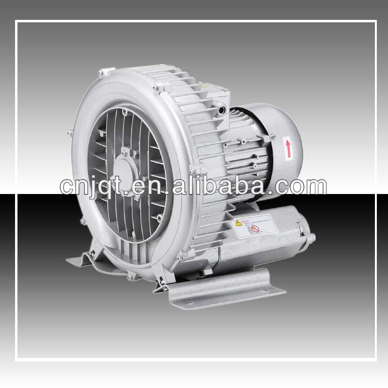 JQT 0.75KW AC 380V Single Stage Regenerative Blowers vacuum suction pump