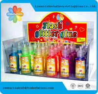school Stationery Glitter glue non toxic safe for kids