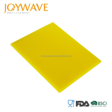 Professional pe color coded rectangular cutting chopping board