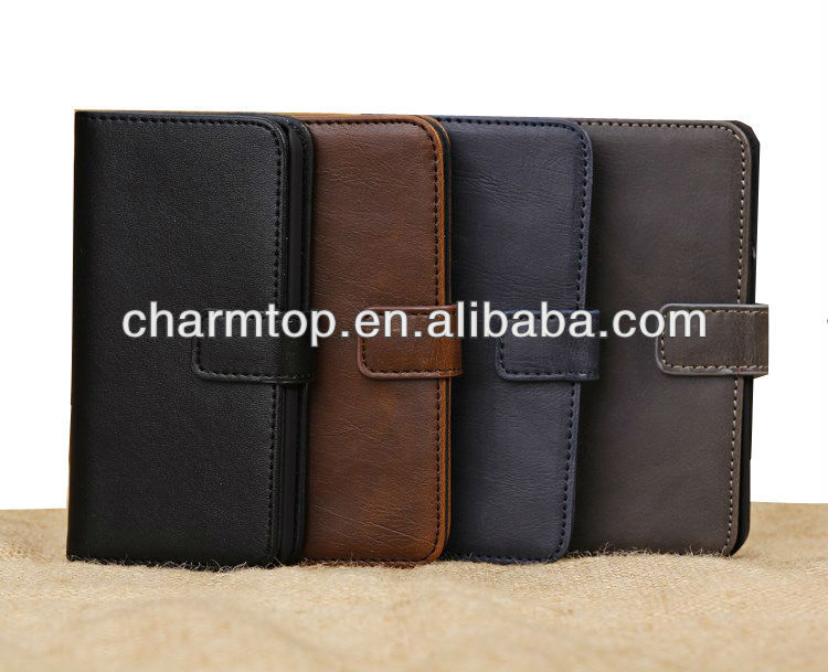 100% Brand New For iPhone 5C Wallet Leather Case