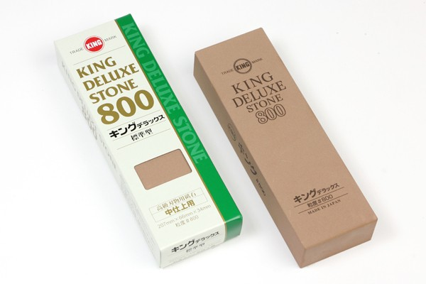 KING various water stone sharpening for kitchen knives