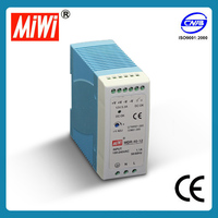 MDR-40-24 led driver 40w 24v 1.7a single output industrial din rail led power supply