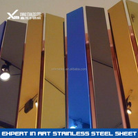 china supplier color 304 mirror stainless steel sheet