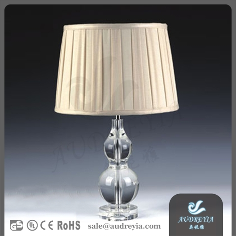 LED light desk lamp hotel table lamp antique crystal chandelier table lamp