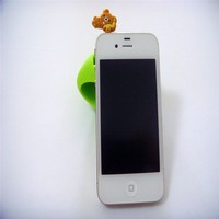 silicone cell phone earphone anti dust plug for iphone/Samsung/htc/ipad