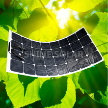 100W Portable folding solar charging kit/flexible solar panel