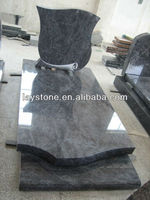 low price polished granite tombstone slabs