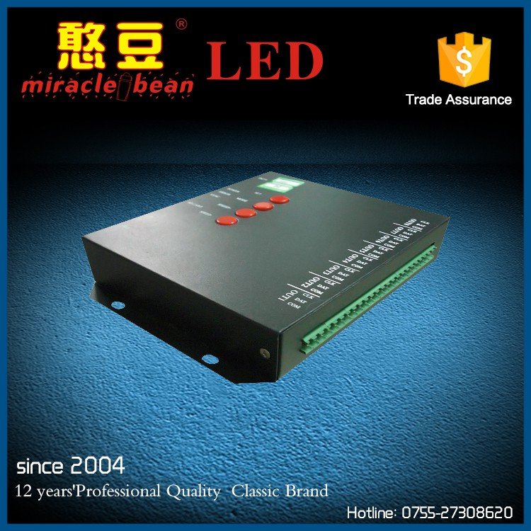 programmable led light controller for rgb led pixel light