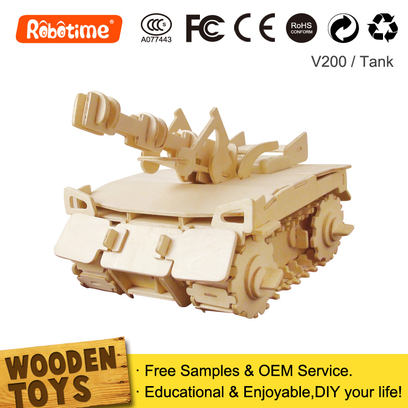Radio Control Car toys Vehicle Model Children's Wooden Gift