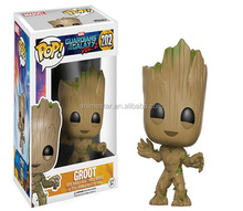 Funko POP Guardians of the Galaxy Groot Anime PVC Figure Good Quality Anime Plastic Figure 202#