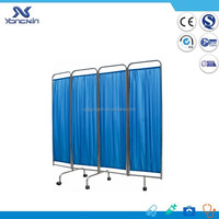 YXZ-028C Medical ward Folding Bedside Screen hospital room divider