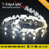 Edgelight Top quality aluminum bendable strip light connector for window LED display advertising