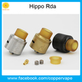Coppervape Original Hippo Rda wonderful flavor Sing coil Dual coil quadruple coil workable in Stock Now !