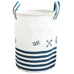 Recycled foldable cloth laundry basket