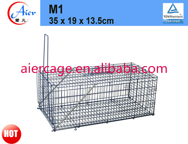 humane metal mouse trap cage
