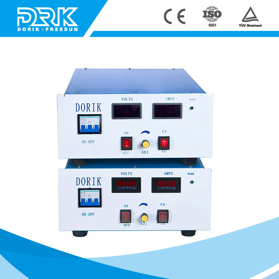12V dc regulated power supply with front panel