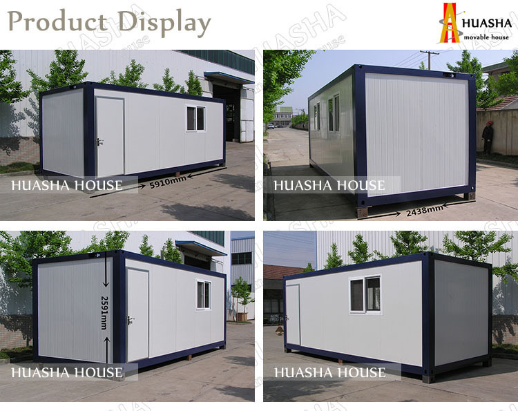 Luxury container flat pack prebuilt modern house