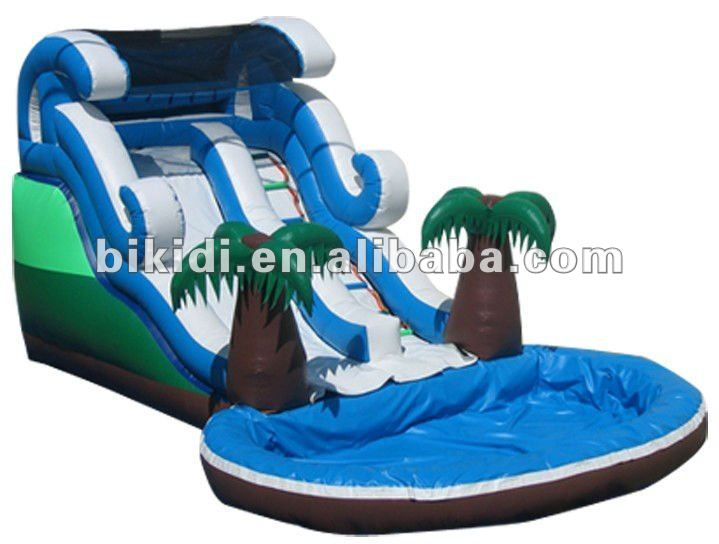 inflatable water slides, used water park slide B4067