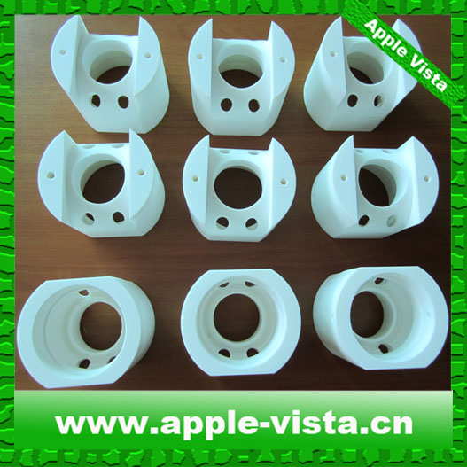 NW-009 zirconia ceramic/Alumina/Macor ceramic CNC machining structure( manufacture of good quality with best price)