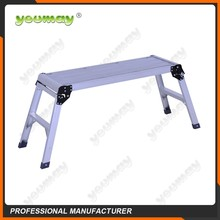 Folding Aluminium Work Bench Platform Ladder