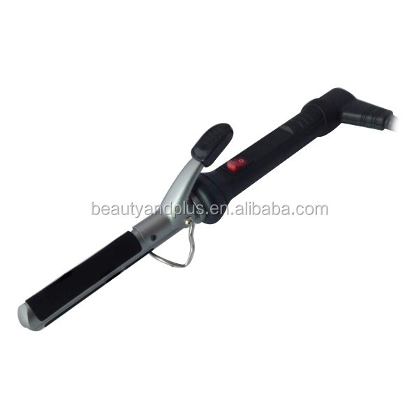 Professional Electric Hair Crimper / hair curling iron with Free Holder