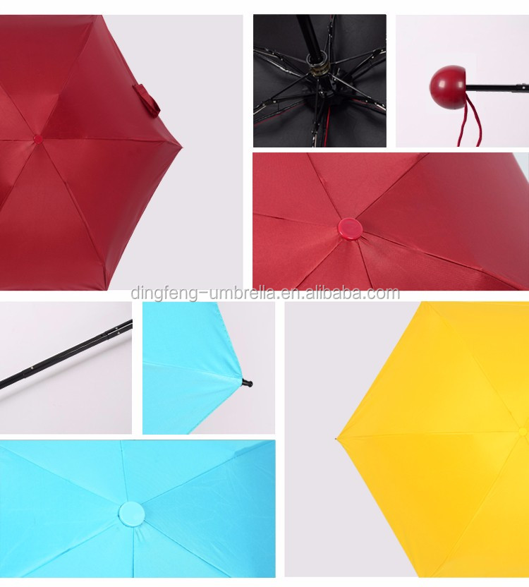 19 inch foldable super mini travel pocket umbrella for sale