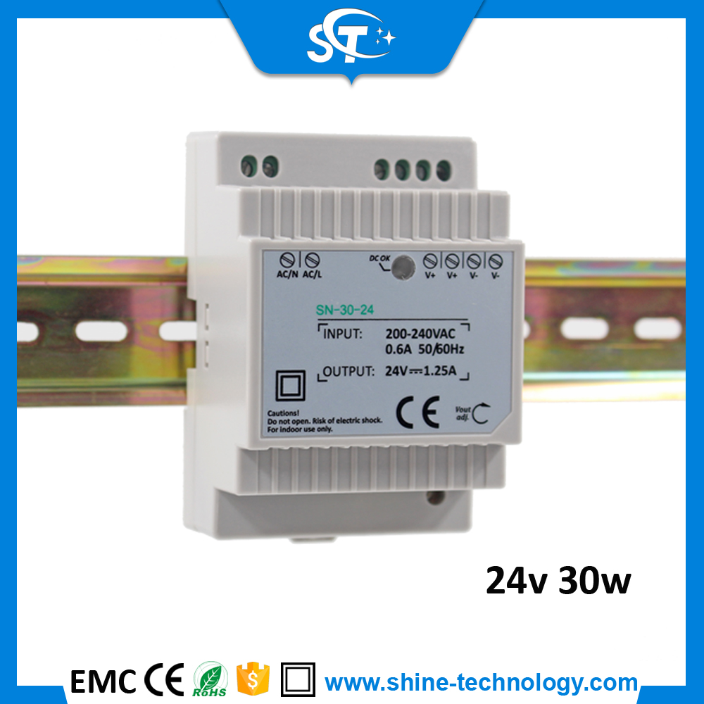 honor electronic switching adapter 230v ac 24v dc transformer 30W bathroom supplies(SN-30-12/24)