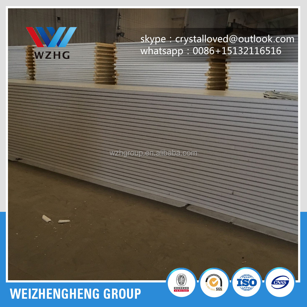 New design environmental EPS/PU/XPS sandwich panel steel structure warehouse