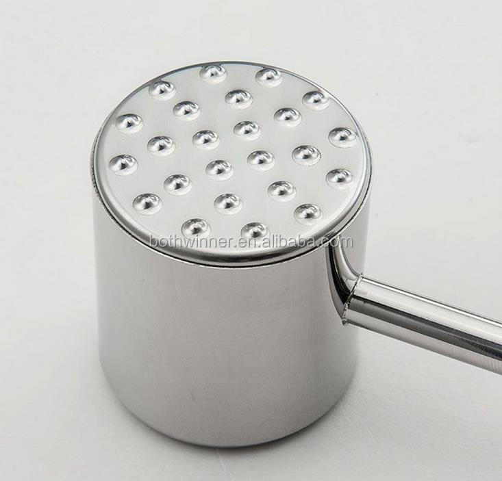 Manual meat mallet tenderizer ,h0t56 stainless steel meat tenderizer for sale
