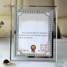 Wholesale High Quality A4 Acrylic Certificate frame