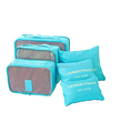 6 sets travel Organizers Packing Cubes Luggage Organizers Pouches