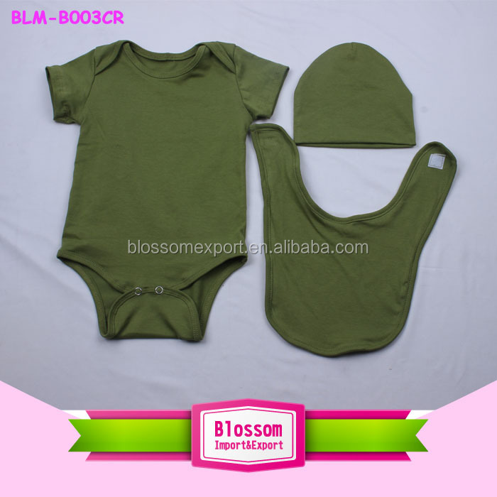 2015 Hot sales! Top quality boutique cute Plain multi cotton baby bib wholesales