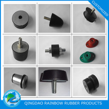 Metal to rubber bonded anti-vibration rubber mount