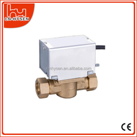 Air Conditioning Electric Zone Valve For Fan Coil Units System
