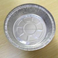 7'' round aluminium plate/aluminum foil container /disposable pan/food storage
